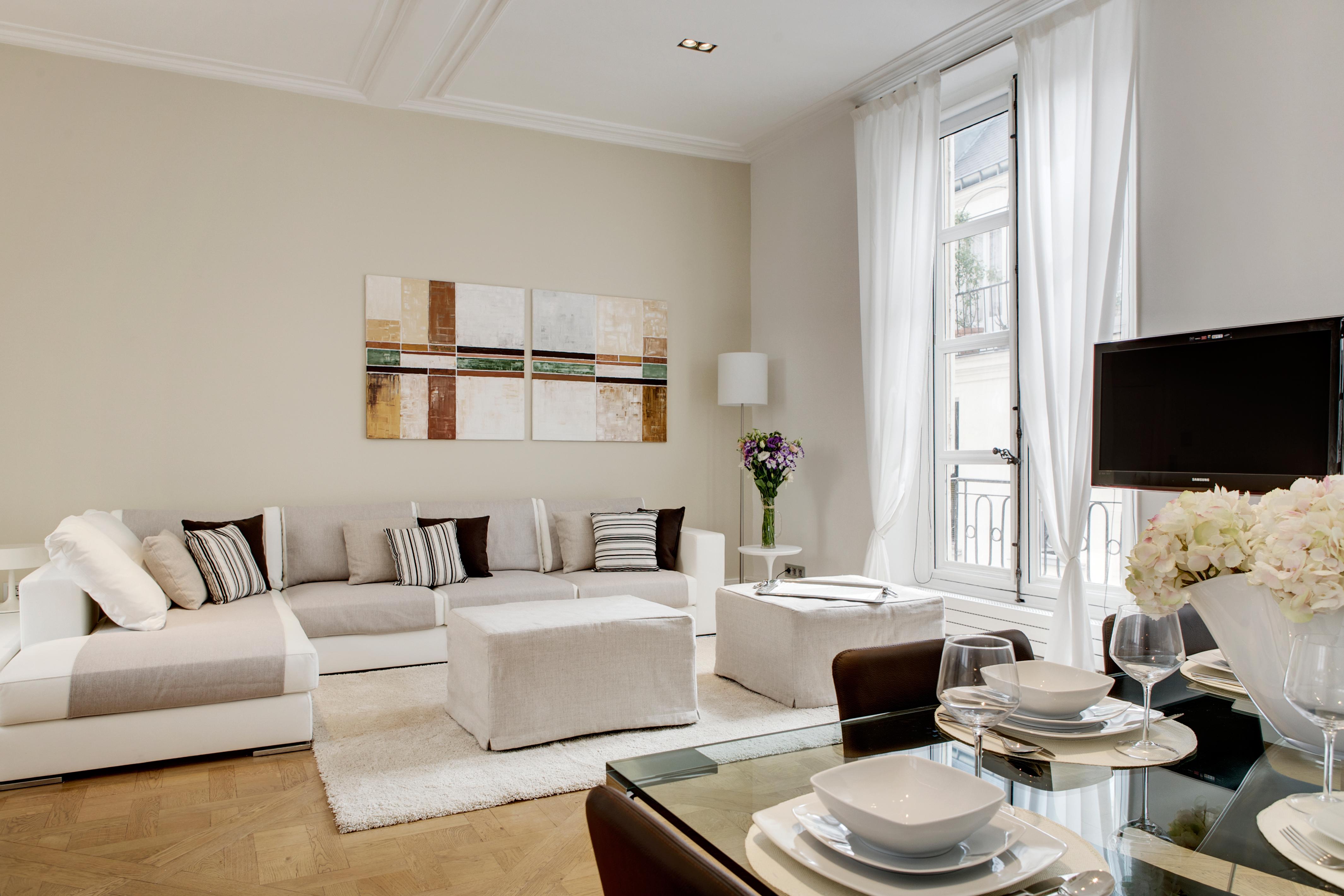 appartamento parigi attico interni